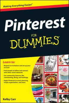Pinterest For Dummies Book Giveaway